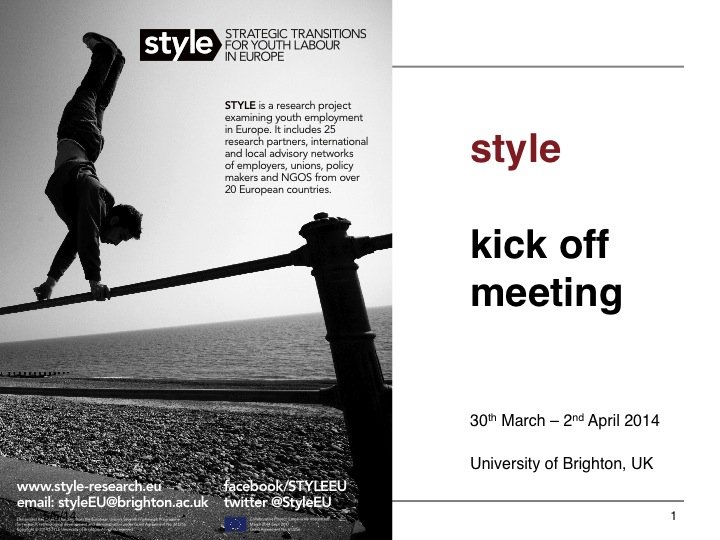 STYLE Kick Off Meeting Podcasts
